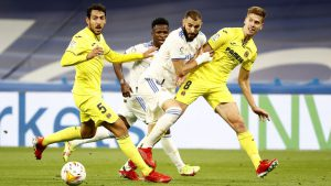 ไฮไลท์ฟุตบอล Real Madrid vs Villarreal (25-09-21)